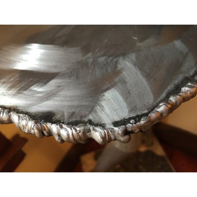 Brushed Steel Illuminated Art Pedestal - Image 6 of 11