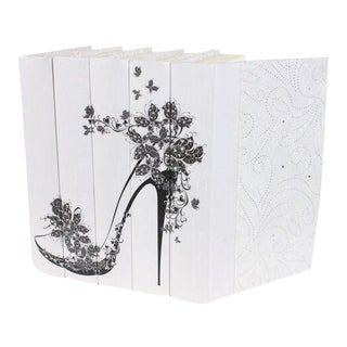 Image Collection Butterfly High Heel Motif Books - Set of 5