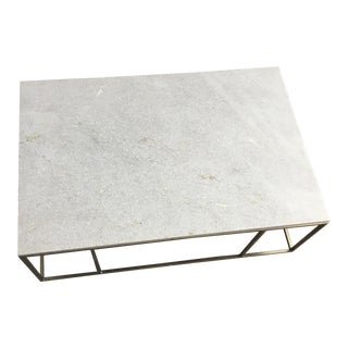 Contemporary Marble Coffee Table