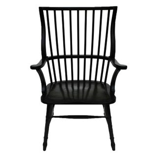 Black Spindle Windsor Chair