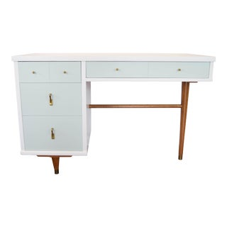 Mid-Century Mint Desk