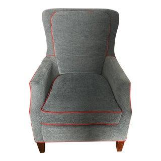 Basett Custom Upholstered Kent Armchair
