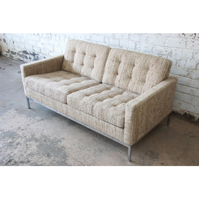 Florence Knoll Loveseat Sofa for Knoll International, 1977 - Image 4 of 11
