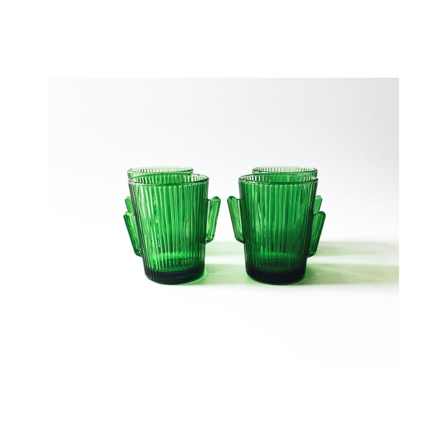 Vintage Libbey Glass Cactus Tumblers- Set of 4 - Image 2 of 5