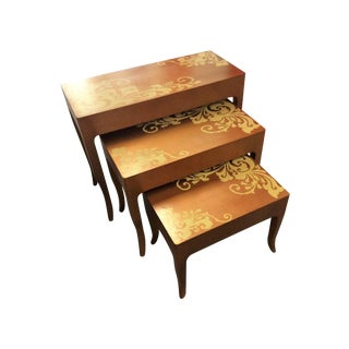 Contemporary Nesting Tables - Set of 3