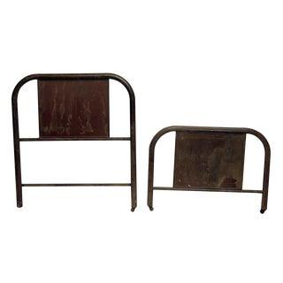 Metal Bed Twin Frame Bedframe Set