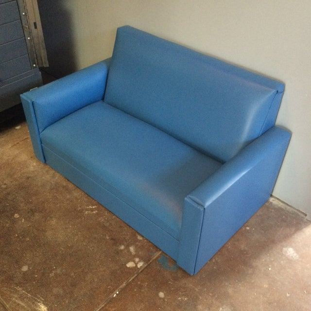 Mid-Century Mini Love Seat - Image 3 of 5