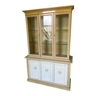 20th Century Painted Bookcase or Hutch