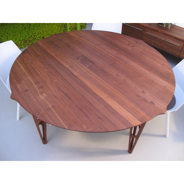 Michele De Lucchi for Riva Round Dining Table - Image 2 of 5