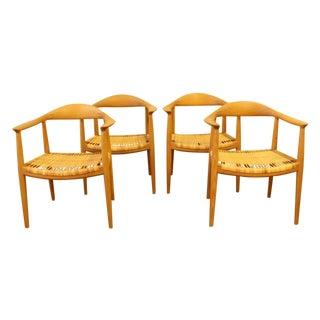 Hans Wegner For Johannes Hansen Round Chairs - 4