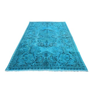 Turkish Carving Overdid Rug - 5′5″ × 8′11″