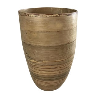 Boho Chic Bamboo Vase