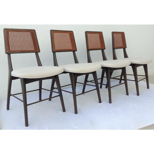 Image of C.1950s Gio Ponti Italian Dining Chairs - Set of 4