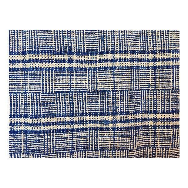 Homespun Nubby Plaid Fabric Textile - 7 Yards - Image 3 of 4