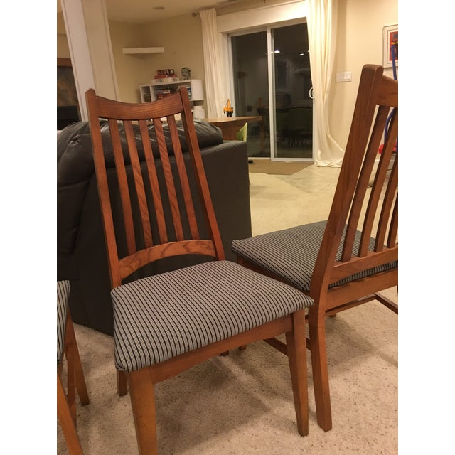 Mid-Century Modern High Back Dining Chairs - Set of 4 - Image 10 of 10