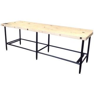 Industrial Butcher Block Table