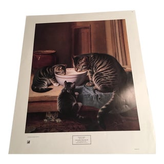 "Vintage Couldrey ""Stealing the Cream"" Print"