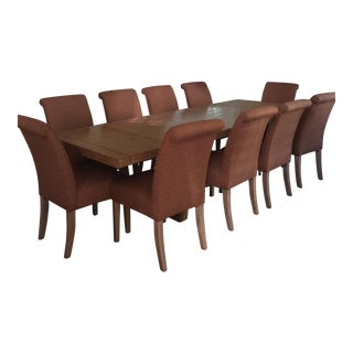 Modern Dining Table With 10 Chairs