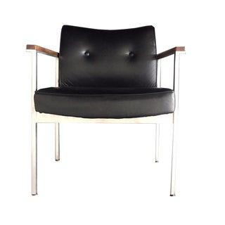 Mid-Century Modern Black Chair