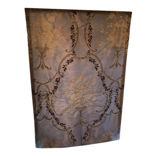 Single Lavendar Roman Shade With Designer Guild Fabric