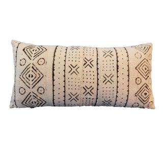 African textile Mud cloth Bogolan Lumbar Pillow Mali