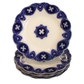 Antique English Savoy Salad Plates - S/6