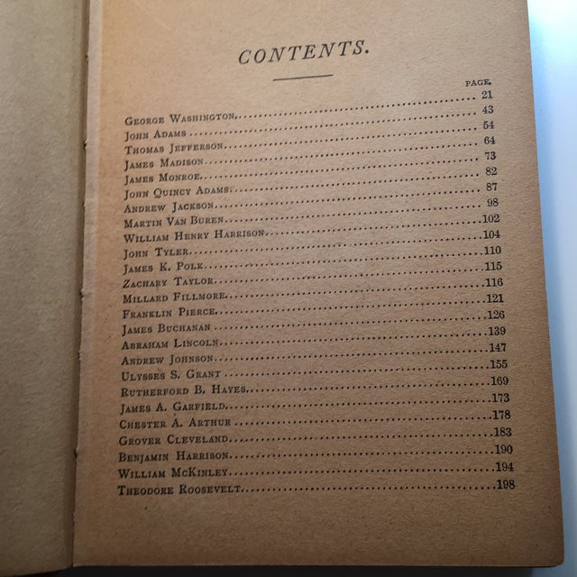 Lives of the Presidents of the United States 1900 - Image 4 of 11