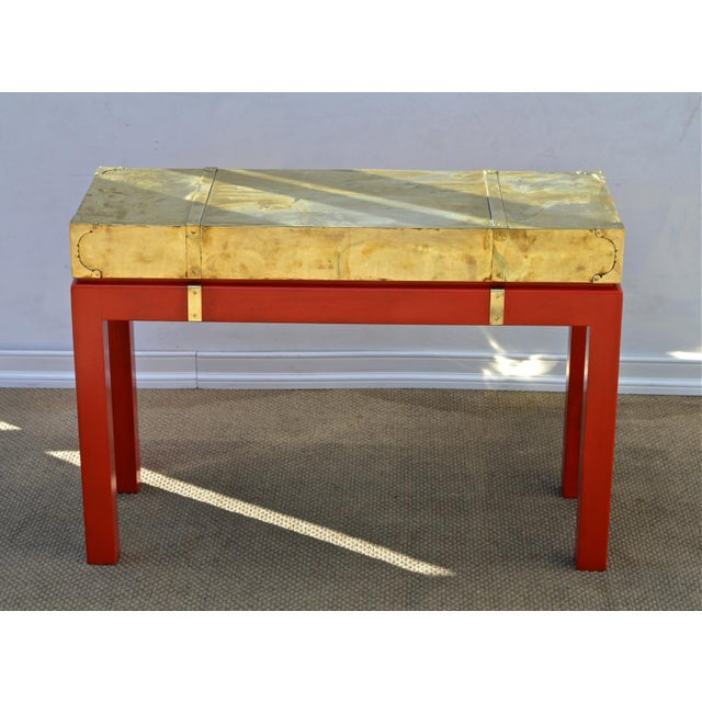 Brass Campaign Style Console - Image 4 of 9