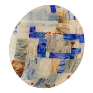 Contemporary Venetian Glass Platter, Murano, Italy circa 2000