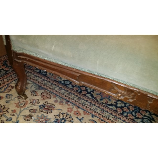 Antique Victorian Fainting Couch - Image 10 of 10