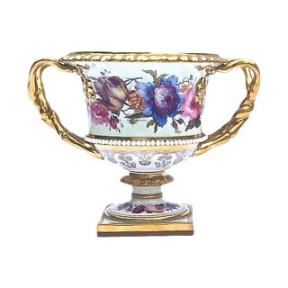 Antique Floral Urn Cachepot