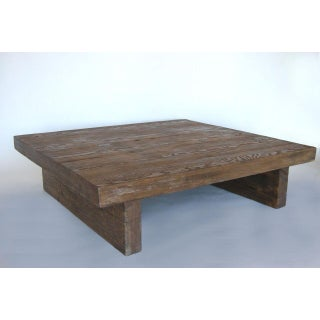 Modern Primitive Coffee Table