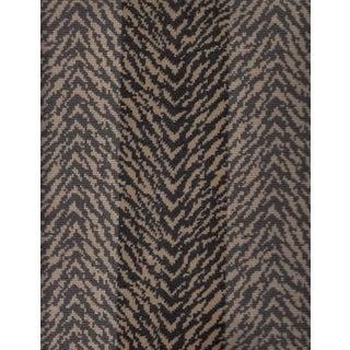 Thibaut Tigris Velvet Fabric in Brown - 3.375 Yards