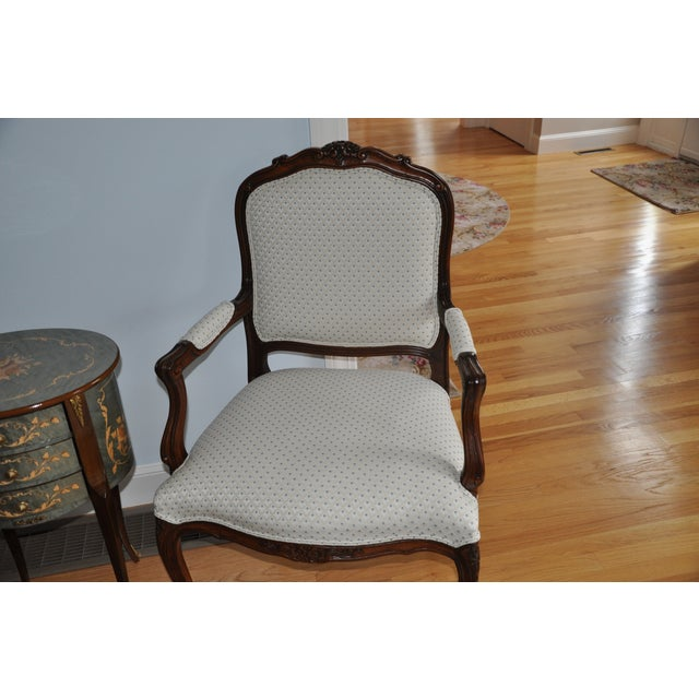 Image of Ethan Allen French Duvall Chair