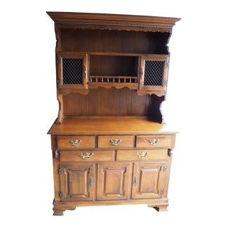 American Made Solid Maple Hutch