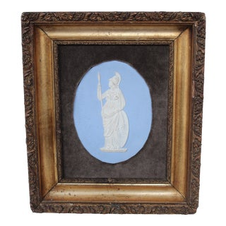 Wedgwood Jasperware Plaque of Minerva Collage