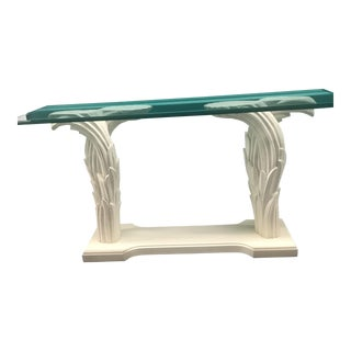 Serge Roche Style Palm Console