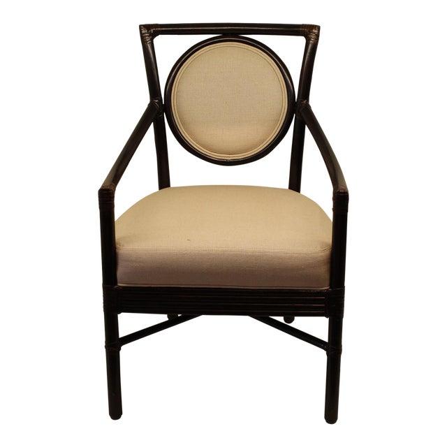 McGuire Orlando Diaz-Azcuy Salon Arm Chair - Image 1 of 6