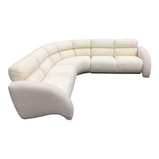 1990's Vladimir Kagan Cirrus Sectional by Weiman