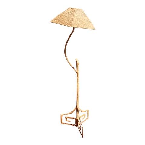 Image of Mario Lopez Torres Wicker Floor Lamp