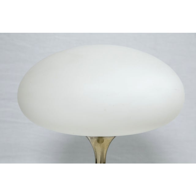 Bill Curry for Laurel Brass Mushroom Lamp - Image 4 of 5