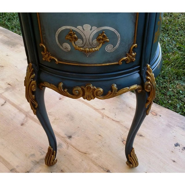 Hand-Painted French Desk - Image 8 of 10