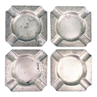 Mid-Century Bloomingdale's Ashtrays - Set of 4