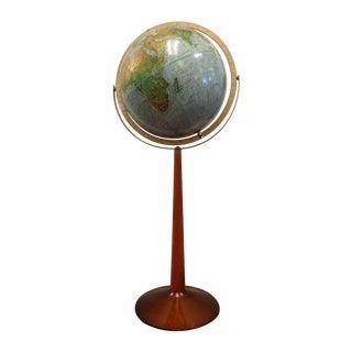 1973 Standing Floor Globe