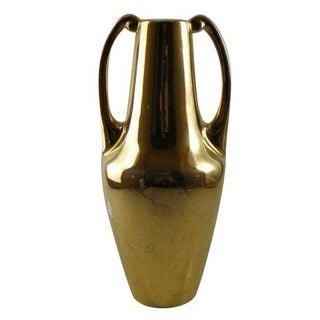 1920s Art Deco Porcelain Selb Gold Vase