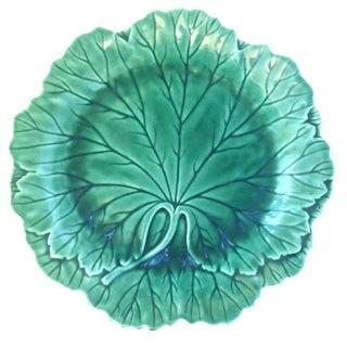 Wedgwood Majolica Cabbage Leaf Plate