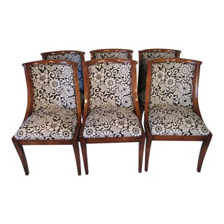 Regency Dining Chairs Made by Old Colony - Set of 6