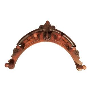 Victorian Wood Horse Tack Rack