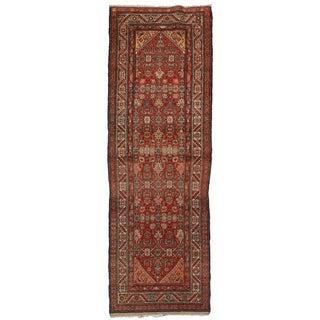 "Antique Persian Malayer Runner - 3'5"" x 10'2"""