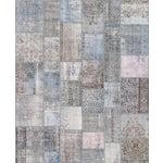"""Image of Vintage Patchwork Wool Rug - 8' 1"""" X 10'"""
